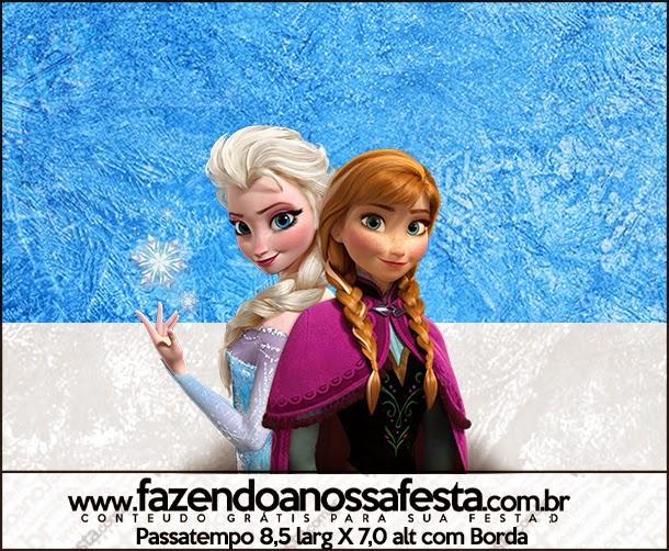 Etiquetas de Frozen para imprimir gratis.