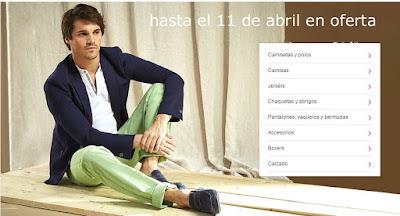 ofertas de marcas presenta ropa para hombre de Carnet de Vol