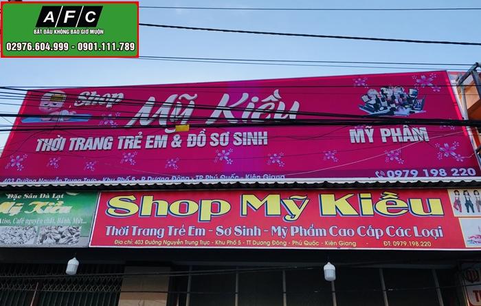 Làm Bảng hiệu Phú Quốc - Nhận làm Biển hiệu tại Phú Quốc
