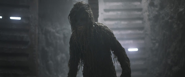 chewbacca covered in mud in solo