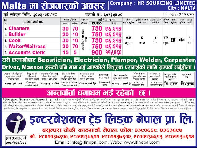 International Trade Link Nepal Pvt. Ltd. jagiredai