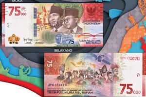 Fakta Uang Edisi Khusus Rp 75.000, Cara Menukarkan hingga 25 Tahun Sekali