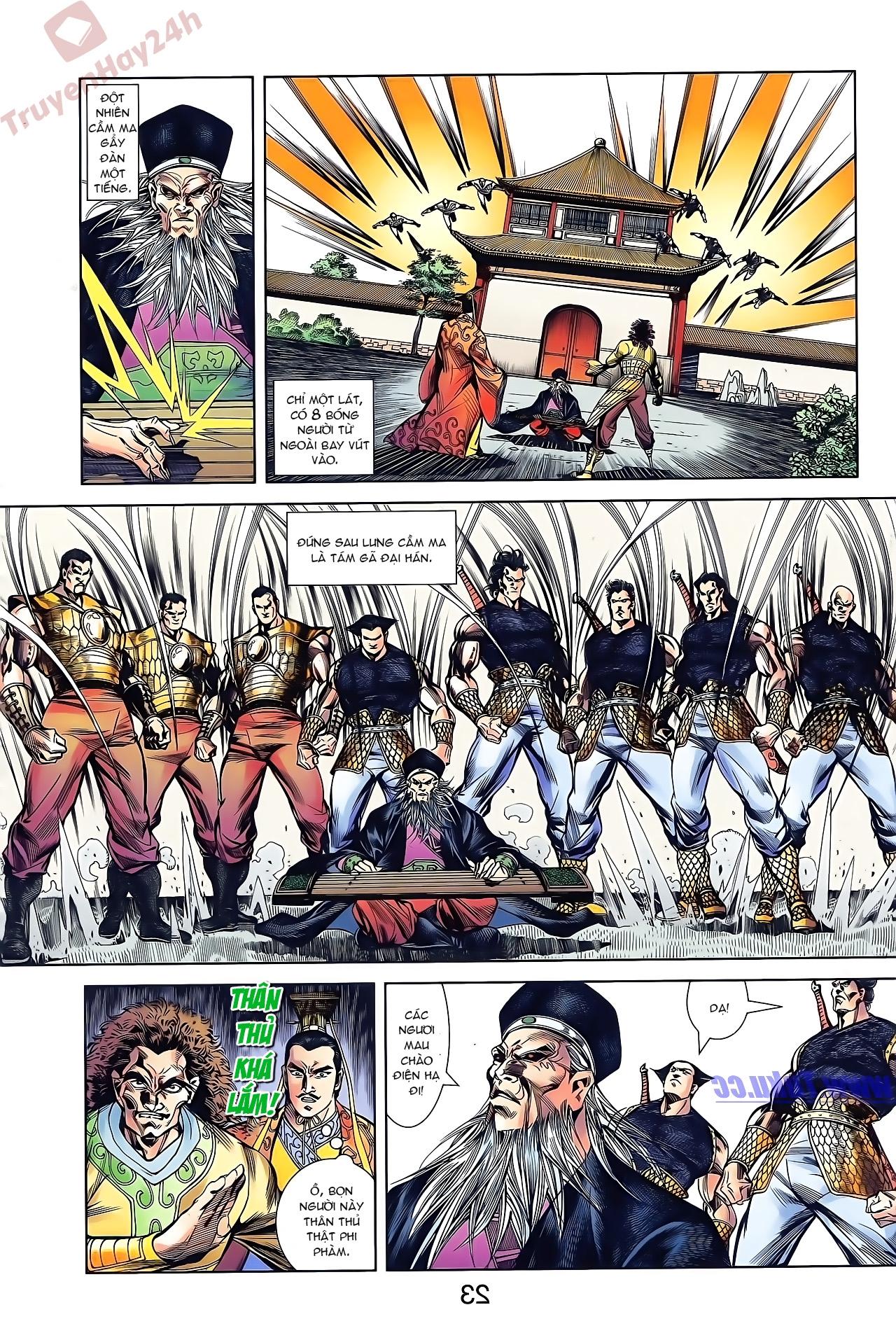 Tần Vương Doanh Chính chapter 43 trang 24