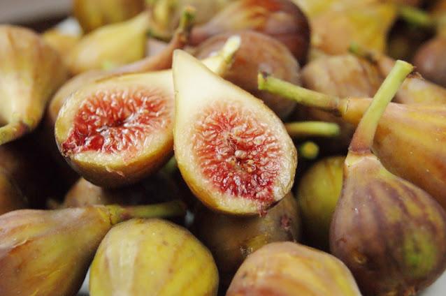 Halved Fresh Fig Image