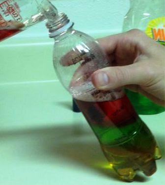 cara membuat experiment berat jenis cairan