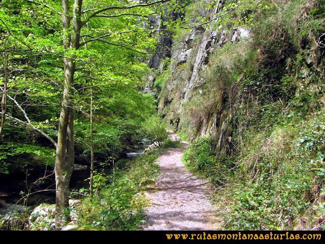 Ruta del Alba: Camino entre río y paredones