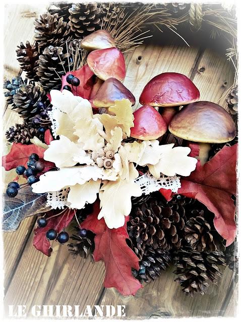 Ghirlanda d'autunno Le Ghirlande blog spot