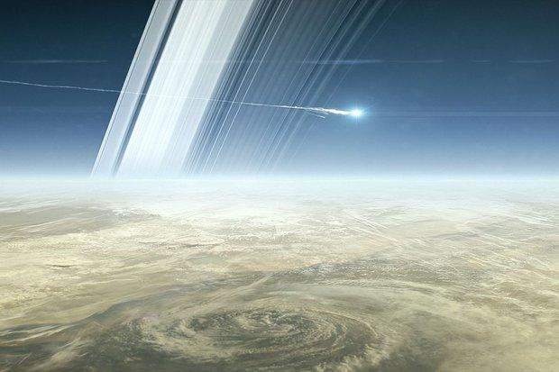 Sonda Cassini termina com missão suicida, para evitar invasão de micróbios em luas de Saturno