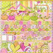 Free Scrap kit '' Life with Apple ''