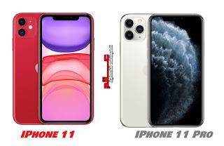 مقارنة بين هاتفي آيفون Apple iPhone 11 و آيفون 11 برو Apple iPhone 11 Pro ماهو الفرق بين الفرق بين  آيفون iPhone 11 و iPhone 11 Pro