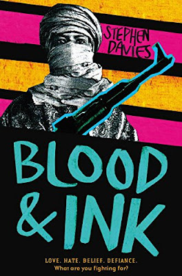 Blood and Ink by Stephen Davies book cover