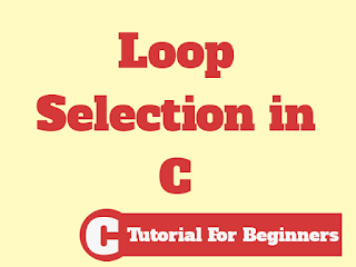 Which loop should I select in Programming