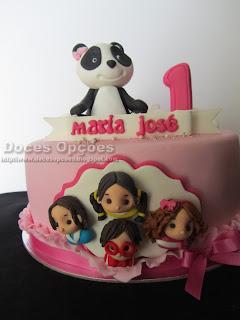 bragança bolo O Panda e os Caricas