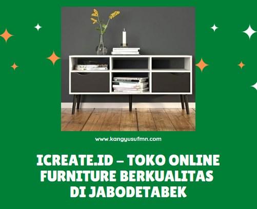 Toko Online Furniture Berkualitas di Jabodetabek