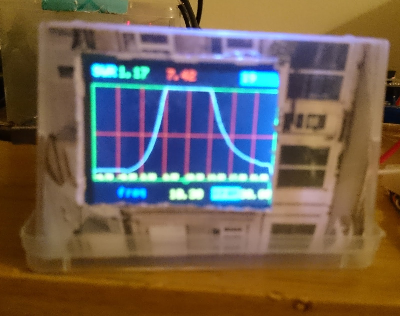 Learn on the fly : A simple standalone antenna analyzer based on