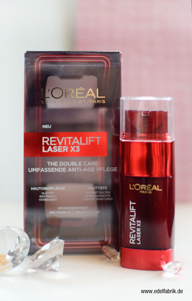 L'Oréal Revitalift Laser X3 The Double Care Anti-Age Pflege, Test