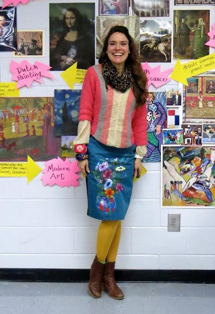 Cassie Stephens Art Teacher Wore #154