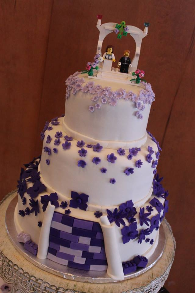 Lego Wedding Cake Part 2