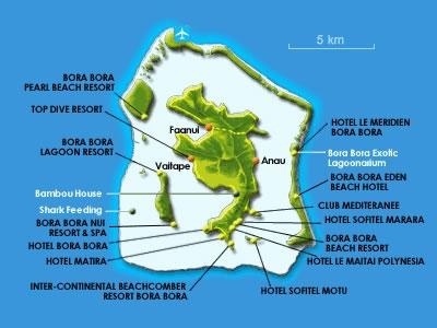 Welcome To French Polynesia Bora Bora Maps Weather And