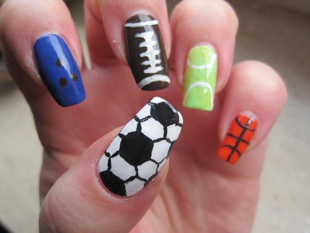 Sport na paznokciach. Projekt hobby. Tydzień 5.