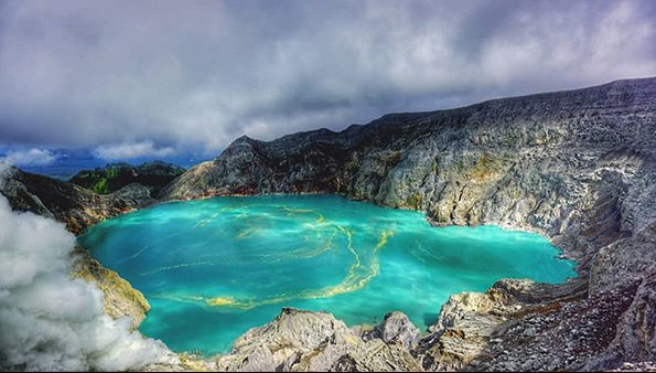 Ijen Crater and The Beauty of The Blue Fire
