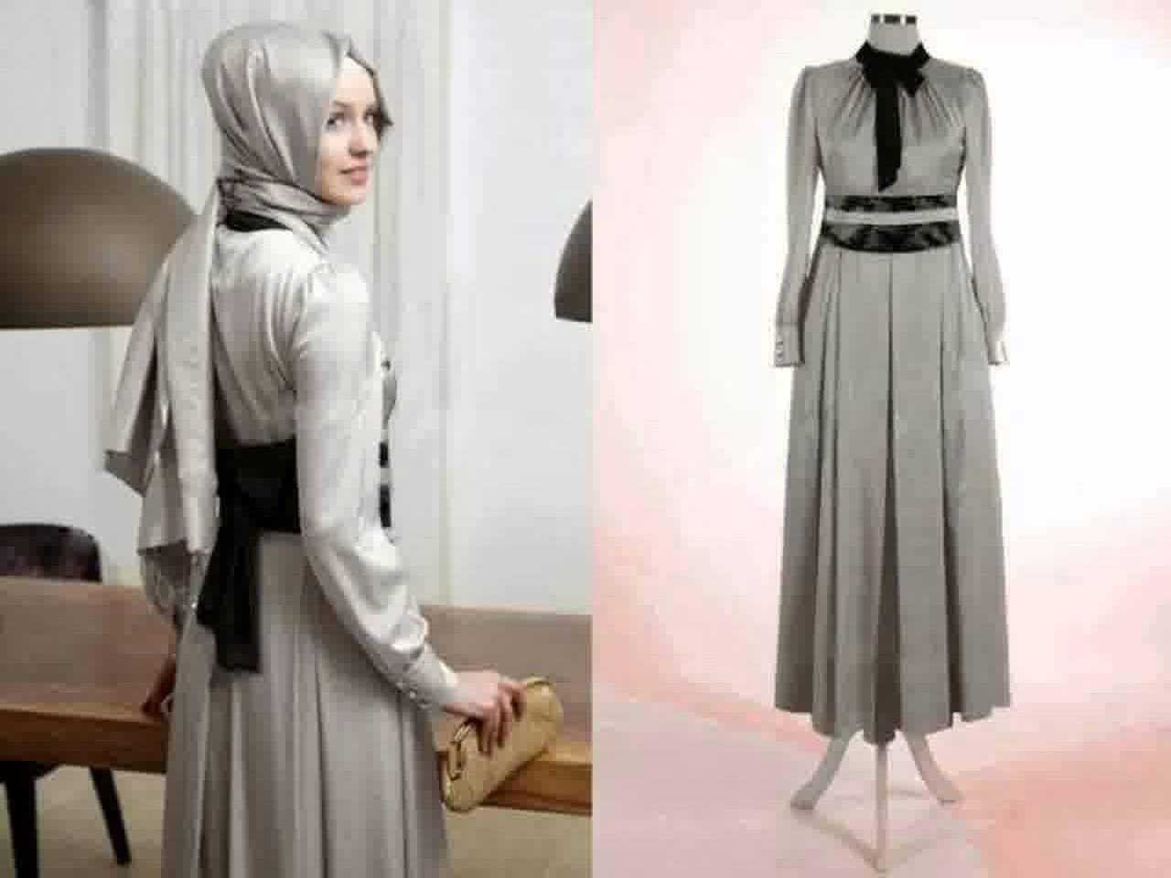 Baju Gamis Modern Lebaran 2017 Model Baju Lebaran