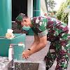Danrem 141/Tp, Personel Harus Cuci Tangan Dengan Sambung Sebelum Beraktivitas