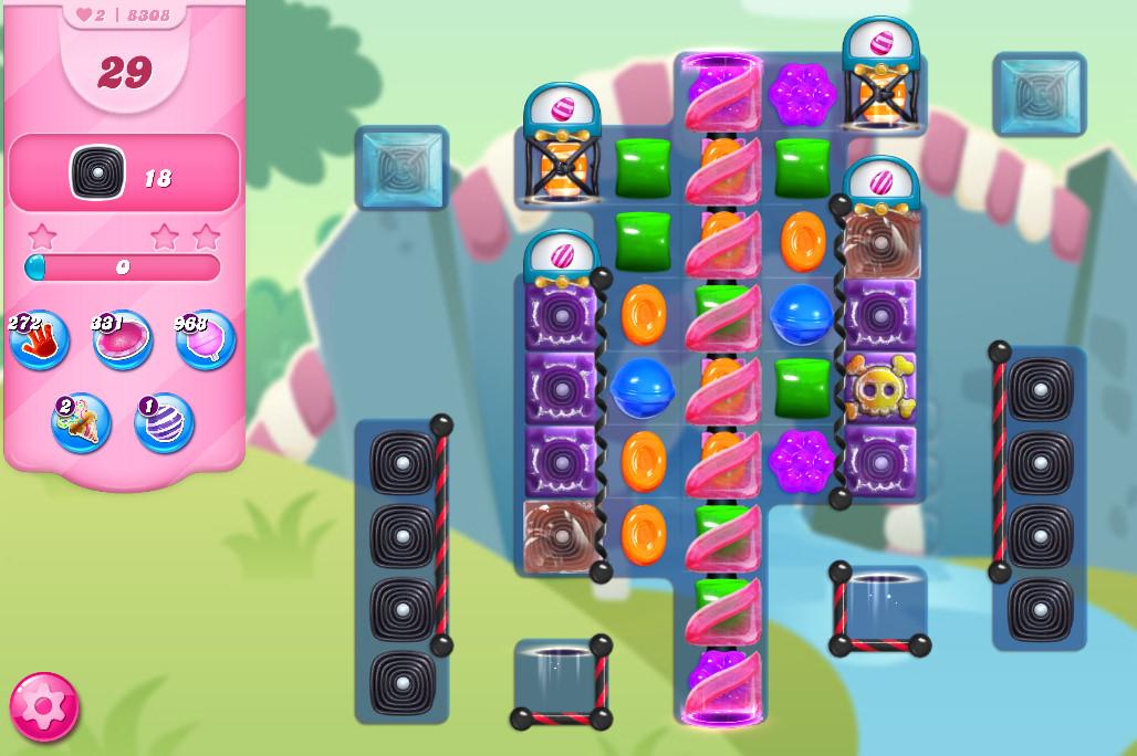 Candy Crush Saga level 8308