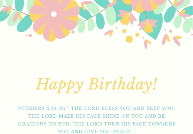 Bible Verses for Birthday and Birthday Prayer