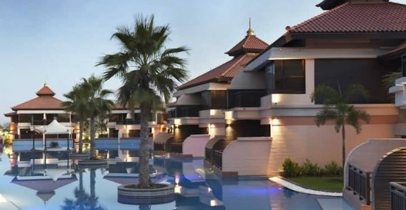 فنادق جزيرة النخلة بدبي