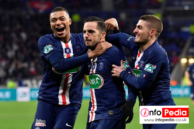 PSG Awarded Ligue OneTrophy, As france Fa calls off the Season
