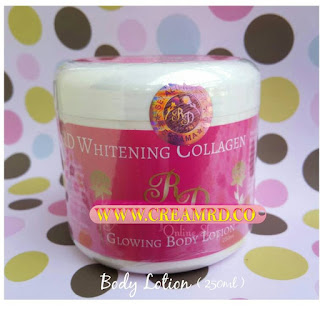 Body Lotion Whitening Glowing RD Original 250 ML