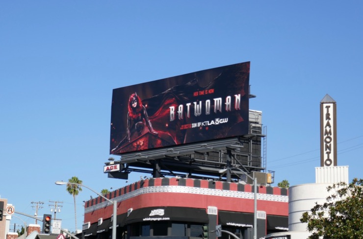 Batwoman CW series billboard