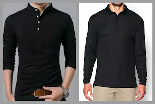 Standard fit and slim fit type polo t-shirts.