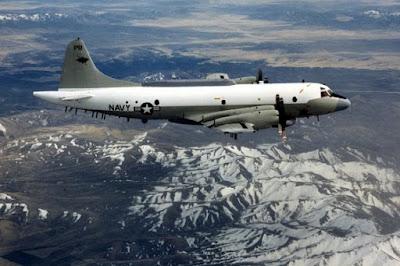 pesawat mata-mata EP-3 Aries Amerika Serikat