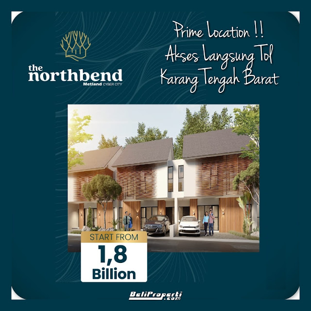 rumah cluster northbend
