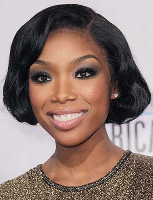 Fantastic Short Bob Hairstyles For African American Women With Bangs Short Hairstyles Gunalazisus