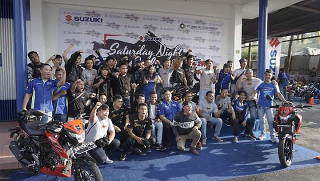 Manado Suzuki Night Ride 2019