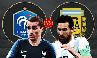 Susunan Pemain Prancis vs Argentina