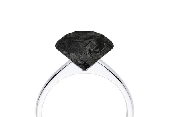 Graphite Engagement Ring