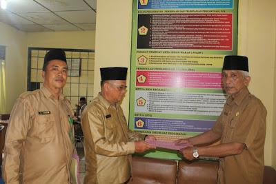 KakanKemenag Tanjungbalai dan Penyelenggara Syariah Adakan Pembinaan PPAIW