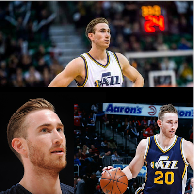 GORDON HAYWARD'S TRENDY SLICKBACK