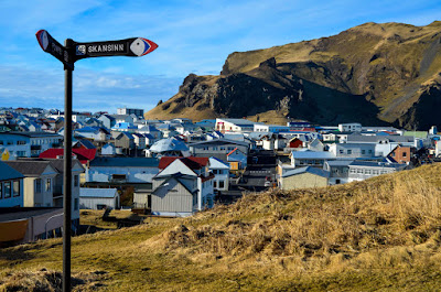 Iceland cities and towns like the Westman islands are perfect to visit