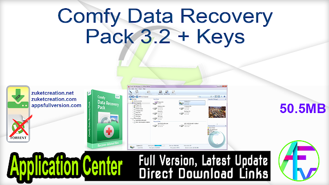 Comfy Data Recovery Pack 3.2 + Keys