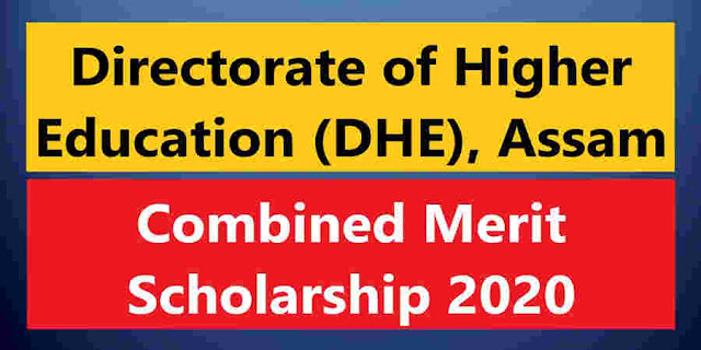 DHE Combined Merit Scholarship 2020 – Degree passed Students can apply