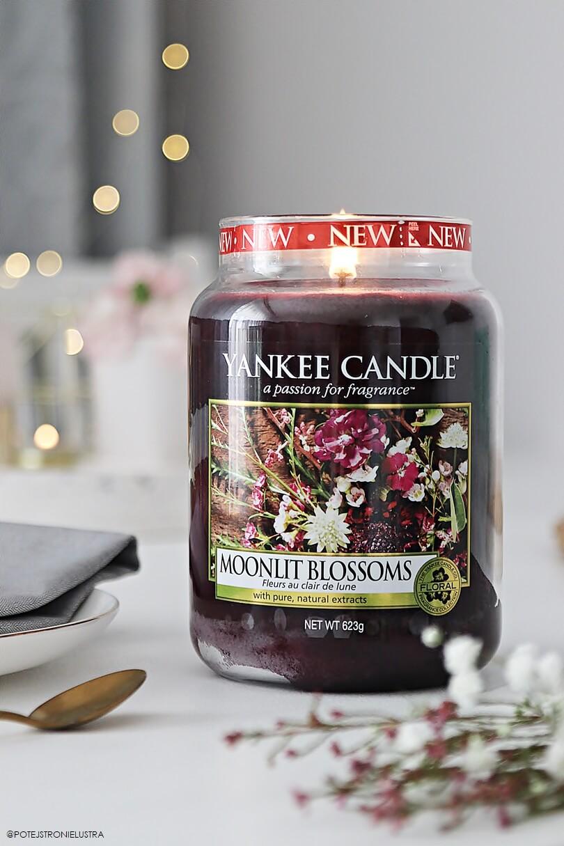 yankee candle moonlit blossoms duża świeca