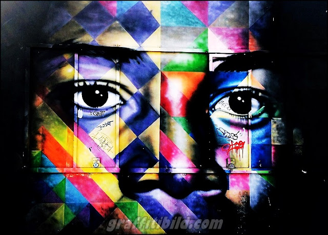 Miami street art works, grafffiti Miami