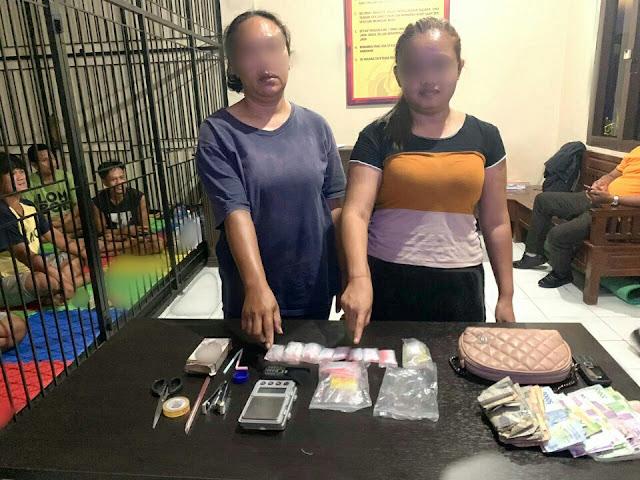 Jadi pengedar sabu, dua wanita asal Ampenan diringkus Polda NTB