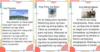 TAGALOG READING MATERIALS (STORIES) Free to Download