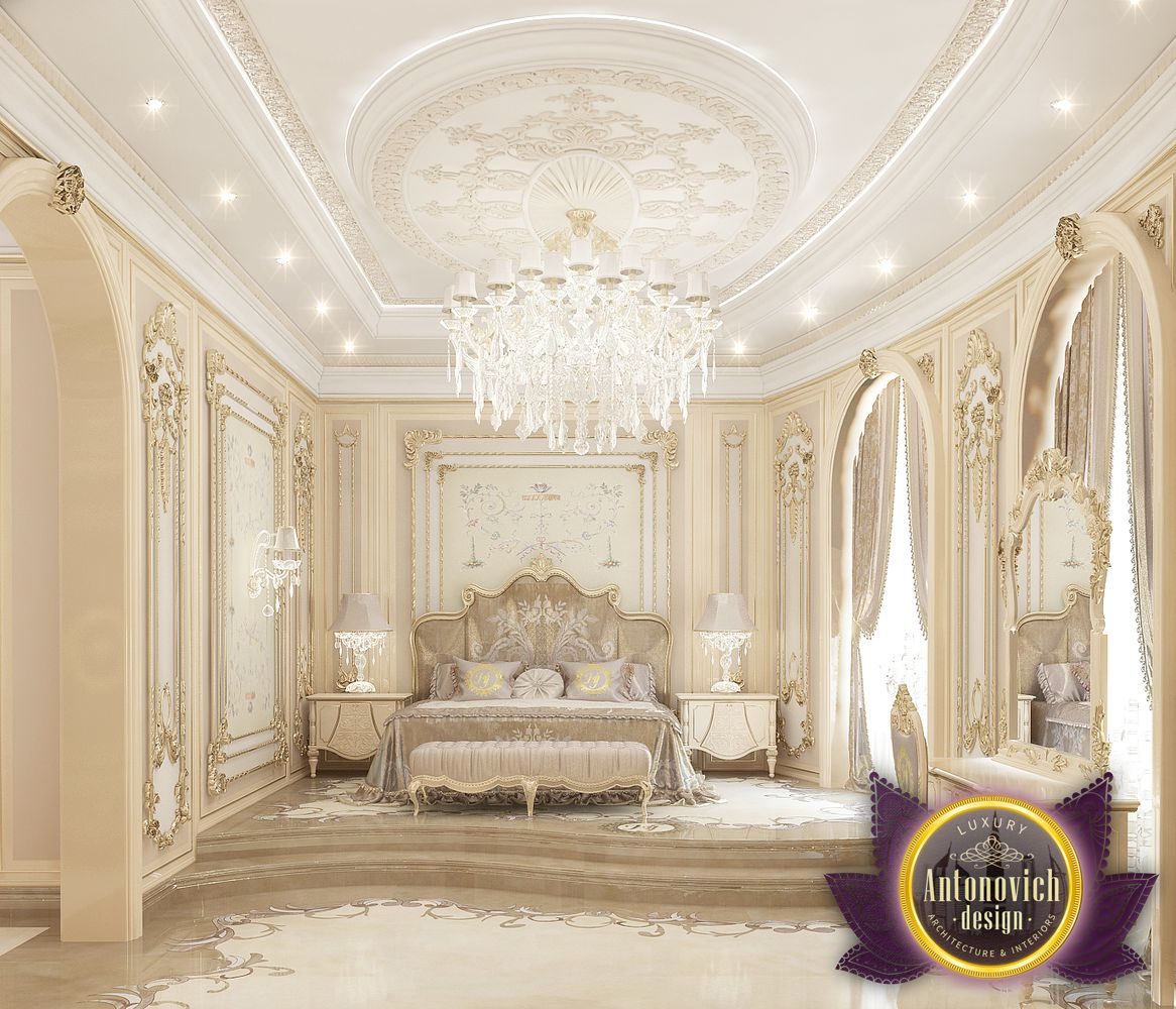 Katrina Antonovich Luxury Interior Design: LUXURY ANTONOVICH DESIGN UAE: Bedroom Design Ideas Of